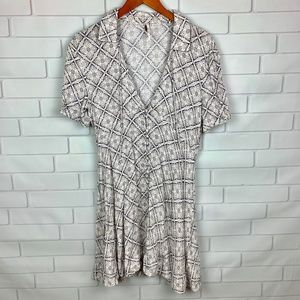 Free People Melody Geo Print Dress